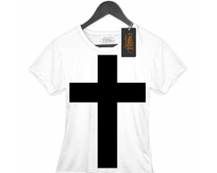 Camiseta Feminina Black cross