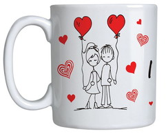 Caneca Romance- Love You