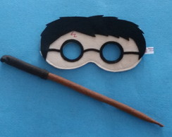 Kit Máscara Harry Potter