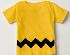 Camisetinha Charlie brown - Snoopy