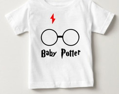 Camisetinha Baby Potter ( Harry Potter)