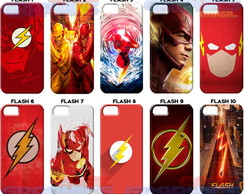Capa Capinha celular Flash Barry Allen