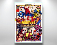 Placa Decorativa Marvel capcom