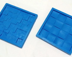 Kit 2 Moldes Grandes Silicone 3D