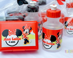 Kit Lanche Minnie Vermelha
