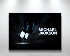 Placa Decorativa Michael Jackson