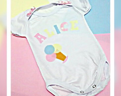 body infantil personalizado patch