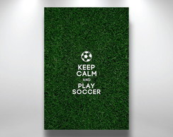 Placa Decorativa Keep calm