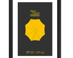 Quadro How I Met Your Mother Serie Arte