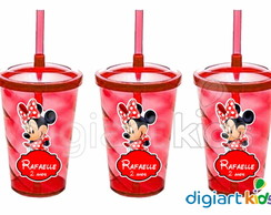 Copo Shake Twister - Minnie