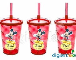 Copo Shake Twister - Mickey