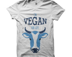 Camiseta - I'm Vegan For Life