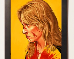 poster c.moldura Bride Kill Bill Quentin