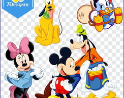 Kit Turma do Mickey 400 PNGs