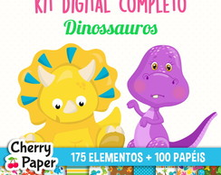 Kit Digital Completo - Dinossauros