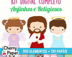 Kit Digital Completo - Anjinhos
