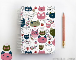 Caderno My Crazy Love Cat