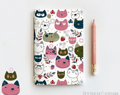 Caderno Brochura My Crazy Love Cat