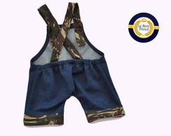 Jardineira jeans New Born