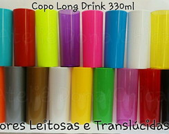 Long Drink 330 ml Cores - Liso