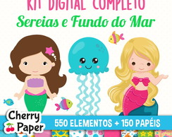 Kit Digital Completo - Sereias