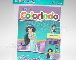 Kit Colorir Jasmine + Brindes