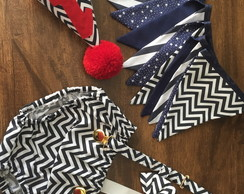 conjunto smash the cake chevron