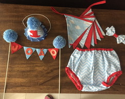 conjunto smash the cake chevron 8888