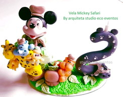 vela mickey safari biscuit - by arquiteta SEE