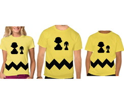 Camisetas Adulto e Juvenil Charlie brown