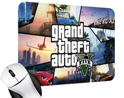 Mouse Pad Gamer do GTA V MP007