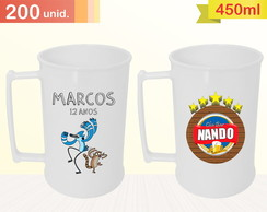 IMP. COLORIDA Caneca 450ml - 200 UNID