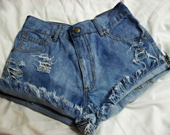Short Customizado Destroyed