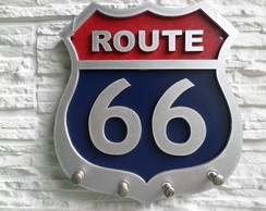 PORTA CHAVE ROUTE 66