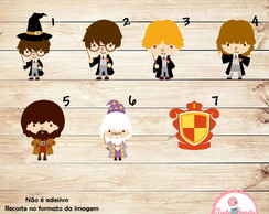 Aplique Harry Potter 7 cm M-1