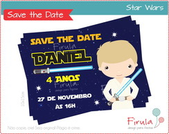 Save the Date Digital Star Wars