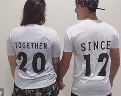 Camiseta Personalizada Together