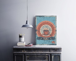 "Placa decorativa ""Vintage Coffee"""