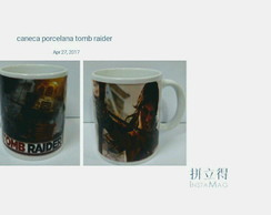 Caneca games Tomb Raider