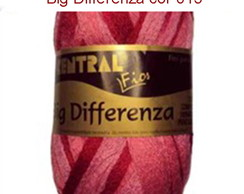 Fio Big Differenza - Cor 015 - Verm/Rosa