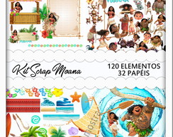 Kit Scrapbook Moana