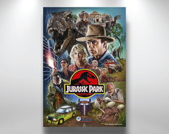Placa Decorativa Jurassic Park