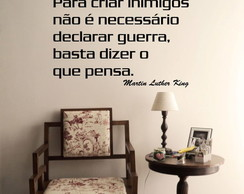 Adesivo - FRASES - Luther King