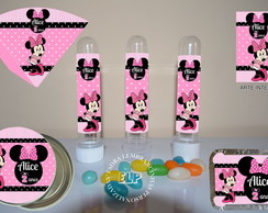 Kit Personalizado da Minnie Rosa