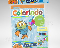 Kit Colorir Peixonalta + Brindes