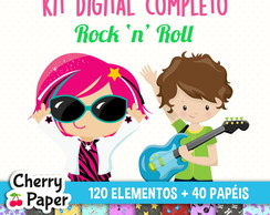 Kit Digital Completo - Rock n Roll
