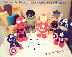 decoracao de super herois