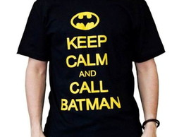 Camiseta Batman Keep Calm