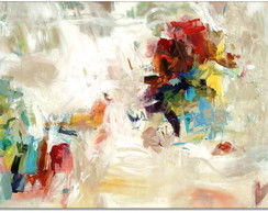 "QUADRO ABSTRATO MODERNO ""SOFT COLORS"""""