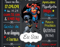 Chalkboard Batman x Superman